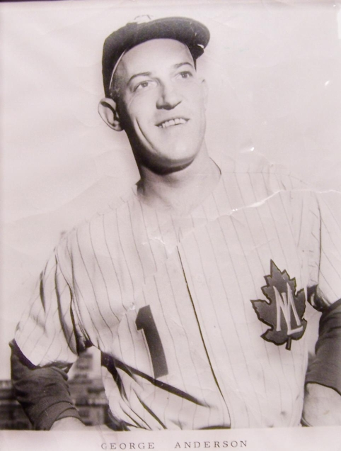 """George """"Sparky"""" Anderson - SD Hall of Fame Programs"""